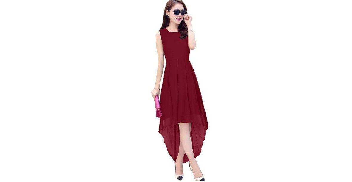 Knee Length Dress, for Women Trendz Creation