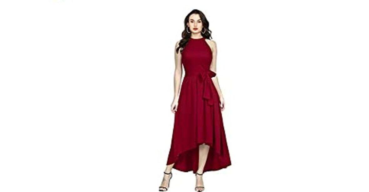 knee length one piece dress A-Line Knee Length Dress, one piece dress